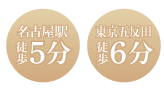 名古屋駅 徒歩5分
